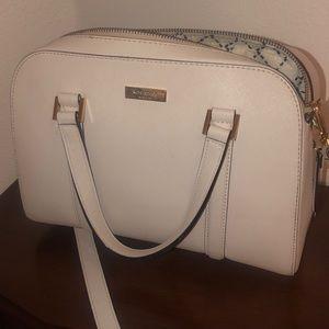Kate Spade Felix Newbury Lane leather satchel